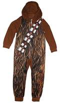 Star Wars Chewbacca Boys Hooded Union Suit 4-16