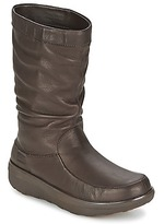 FitFlop LOAFF SLOUCHY KNEE BOOT CHOCOLATE