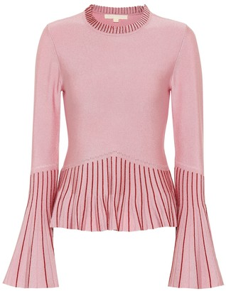 Jonathan Simkhai Pleated sweater