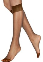 Hanes Womens Silk Reflections Reinforced Toe Knee Highs 2-Pack Style-775