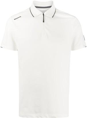 Hackett x Aston Martin Racing zipped neck polo shirt