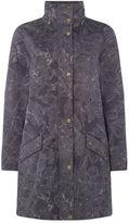 Tigi Leaf Printed Coat