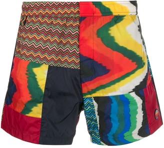 Missoni Mixed Print Shorts