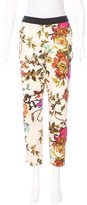 Ted Baker High-Rise Printed Pants