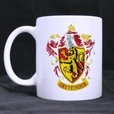 Custom Mugs Harry Potter Gryffindor Lion Customized Personalized Coffee Mugs Beer Mug Ceramic Water Cups Office Home Cup 11 OZ Two Sides Printed