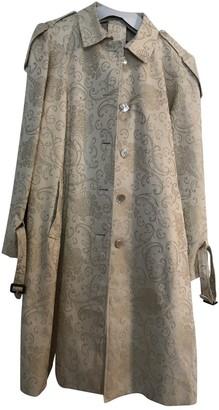 Aquascutum London Gold Cotton Trench Coat for Women