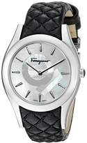 Salvatore Ferragamo Women's FG4060014 LIRICA Analog Display Quartz Black Watch