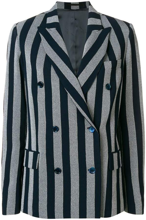 Golden Goose striped double-breasted blazer