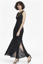 French Connection Chantilly Beau Mesh Bodycon Maxi Dress
