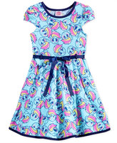My Little Pony Fit & Flare Dress, Toddler & Little Girls (2T-6X)