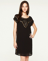 Lucky Brand Good Fortune Embellished Dress