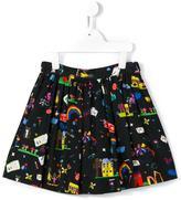 Dolce & Gabbana 'Back To School' print skirt