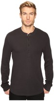 7 For All Mankind Long Sleeve Thermal Henley