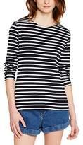 Armor Lux 04277,Women's Striped Long Sleeve T-Shirt ,
