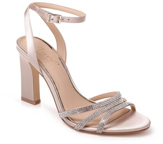 Badgley Mischka Sparkle Embellished Sandal
