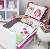 Pam Grace Creations 8 Piece Sweet Dream Owl Toddler Bedding Set, Pink by