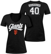 5th & Ocean Women's Madison Bumgarner San Francisco Giants Foil Player T-Shirt