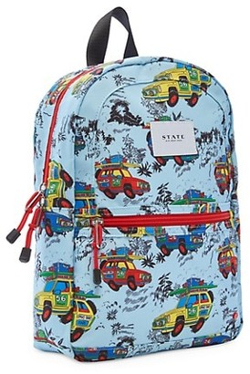 State Bags Kane Mini Hawaiian Cars Backpack