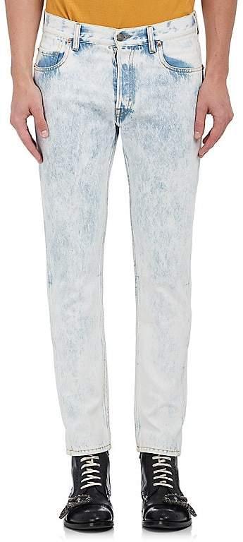 Gucci Men's Acid-Washed Slim Jeans