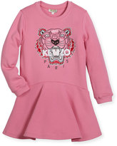 Kenzo Bubble Tiger Sweater Dress, Size 14-16
