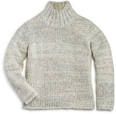 Aqua Girls' Chunky Mock Neck Sweater, Big Kid - 100% Exclusive