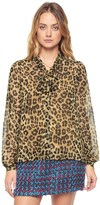 Juicy Couture Regent Leopard Blouse