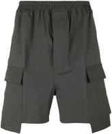 Rick Owens deconstructed cargo shorts