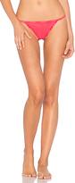 Calvin Klein Underwear ID Sheer Marq Thong in Pink. - size L (also in )