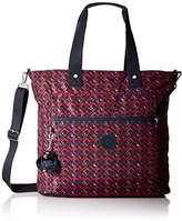 Kipling Lizzie Printed Laptop Tote Shoulder Bag