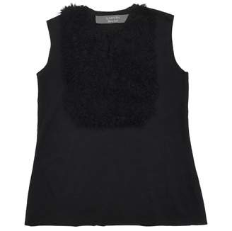 Lanvin Black Wool Tops
