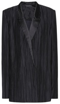 Haider Ackermann Plissé-pleated blazer