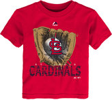 Majestic Toddlers' St. Louis Cardinals Baseball Mitt T-Shirt