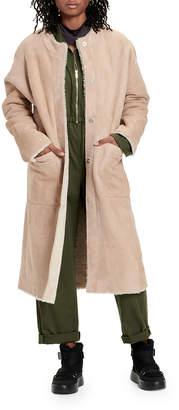 UGG Remy Reversible Shearling Long Coat