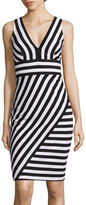 Bisou Bisou Sleeveless Stripe Dress