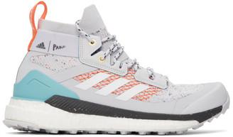 adidas Grey Parley Edition Terrex Free Hiker Sneakers