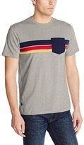 U.S. Polo Assn. Men's Chest Stripe Crew Neck Pocket T-Shirt