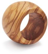 Sur La Table Olivewood Napkin Ring