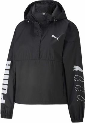 Puma Women's 1/2 Zip Windbreaker Jacket