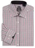English Laundry Graphic Cotton Dress Shirt