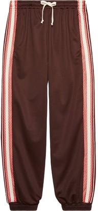 Gucci G rhombus patch track pants