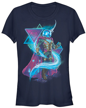 Fifth Sun Women's Tee Shirts NAVY - Mysterio Navy Crewneck Tee - Women & Juniors