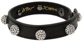 Betsey Johnson You Give Me Butterflies Leather Bracelet