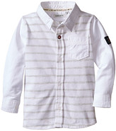 Ikks Button Up Shirt with Knit Jersey Back (Infant/Toddler)