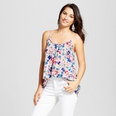 Merona Women's Printed Shirred Cami