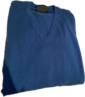 Loewe Blue Wool Knitwear for Women