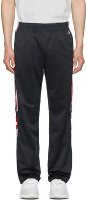Champion Reverse Weave Navy Side Stripe Lounge Pants
