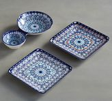 Pottery Barn Baja Appetizer Plate, Set of 4