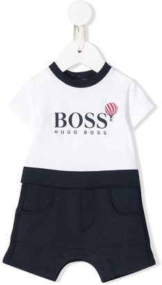 Boss Kids Air Balloon Print Bodysuit