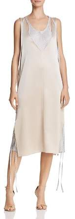 Alexander Wang Layered Satin Slip Dress