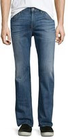 "7 For All Mankind Brett ""A"" Pocket Denim Jeans, Uptown Blue"
